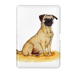 Pug Color Drawing Samsung Galaxy Tab 2 (10.1 ) P5100 Hardshell Case