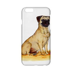 Pug Color Drawing Apple Iphone 6/6s Hardshell Case
