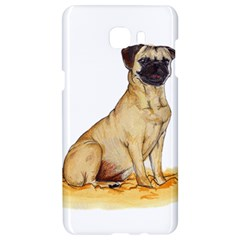 Pug Color Drawing Samsung C9 Pro Hardshell Case