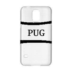 Pug Dog Bone Samsung Galaxy S5 Hardshell Case