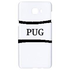 Pug Dog Bone Samsung C9 Pro Hardshell Case