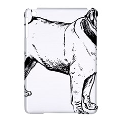 Pug Drawing Apple iPad Mini Hardshell Case (Compatible with Smart Cover)