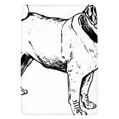 Pug Drawing Flap Covers (S)