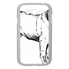 Pug Drawing Samsung Galaxy Grand DUOS I9082 Case (White)