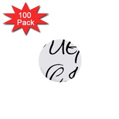 Pug Fancier 1  Mini Buttons (100 pack)