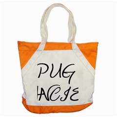 Pug Fancier Accent Tote Bag