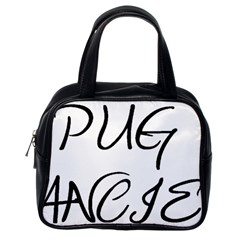 Pug Fancier Classic Handbags (One Side)