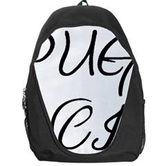 Pug Fancier Backpack Bag