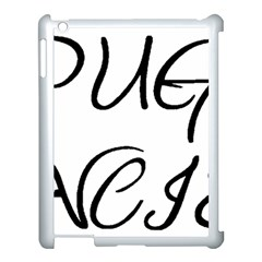 Pug Fancier Apple iPad 3/4 Case (White)