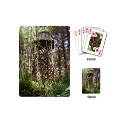 Water Tower 1 Playing Cards (Mini)