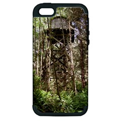 Water Tower 1 Apple iPhone 5 Hardshell Case (PC+Silicone)