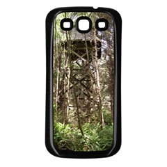 Water Tower 1 Samsung Galaxy S3 Back Case (black)