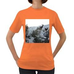 White Tail Deer 1 Women s Dark T-Shirt