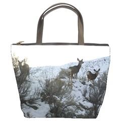 White Tail Deer 1 Bucket Bags