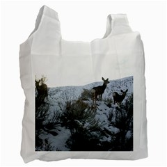 White Tail Deer 1 Recycle Bag (One Side)