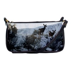 White Tail Deer 1 Shoulder Clutch Bags