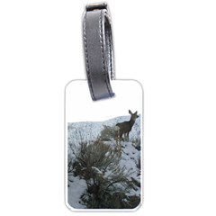 White Tail Deer 1 Luggage Tags (One Side)