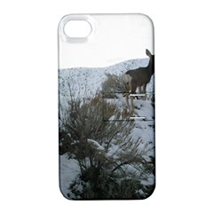White Tail Deer 1 Apple iPhone 4/4S Hardshell Case with Stand