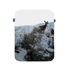 White Tail Deer 1 Apple iPad 2/3/4 Protective Soft Cases