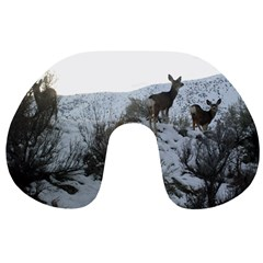 White Tail Deer 1 Travel Neck Pillows