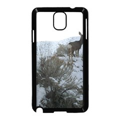 White Tail Deer 1 Samsung Galaxy Note 3 Neo Hardshell Case (Black)
