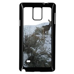 White Tail Deer 1 Samsung Galaxy Note 4 Case (Black)