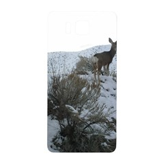 White Tail Deer 1 Samsung Galaxy Alpha Hardshell Back Case
