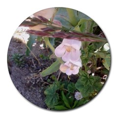 Wildflowers On The Boise River Round Mousepads