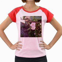 Wildflowers On The Boise River Women s Cap Sleeve T-Shirt