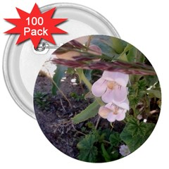 Wildflowers On The Boise River 3  Buttons (100 pack)