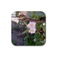 Wildflowers On The Boise River Rubber Coaster (Square)