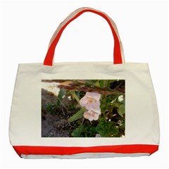 Wildflowers On The Boise River Classic Tote Bag (Red)