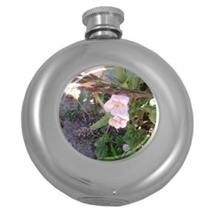 Wildflowers On The Boise River Round Hip Flask (5 oz)