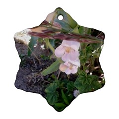 Wildflowers On The Boise River Ornament (Snowflake)