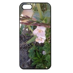 Wildflowers On The Boise River Apple iPhone 5 Seamless Case (Black)