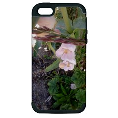Wildflowers On The Boise River Apple iPhone 5 Hardshell Case (PC+Silicone)