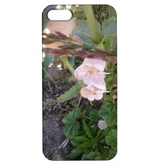 Wildflowers On The Boise River Apple iPhone 5 Hardshell Case with Stand