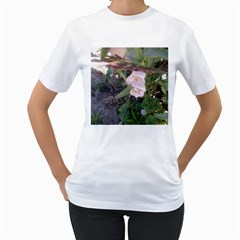 Wildflowers On The Boise River Women s T-Shirt (White)