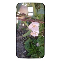Wildflowers On The Boise River Samsung Galaxy S5 Back Case (White)