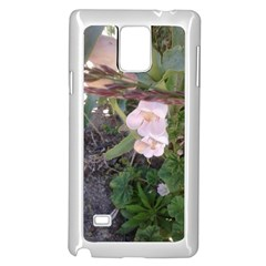 Wildflowers On The Boise River Samsung Galaxy Note 4 Case (White)