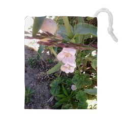 Wildflowers On The Boise River Drawstring Pouches (Extra Large)