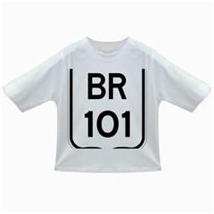 Brazil BR-101 Transcoastal Highway  Infant/Toddler T-Shirts
