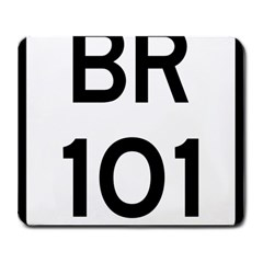 Brazil BR-101 Transcoastal Highway  Large Mousepads