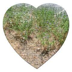 Wildflowers Jigsaw Puzzle (Heart)
