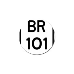 Brazil BR-101 Transcoastal Highway  Golf Ball Marker (4 pack)