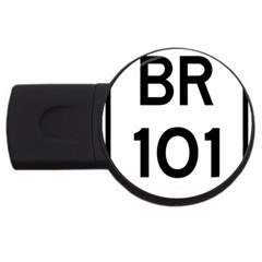 Brazil BR-101 Transcoastal Highway  USB Flash Drive Round (2 GB)