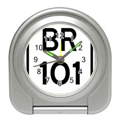 Brazil BR-101 Transcoastal Highway  Travel Alarm Clocks
