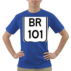 Brazil BR-101 Transcoastal Highway  Dark T-Shirt