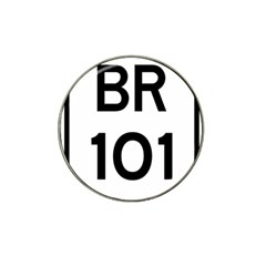 Brazil BR-101 Transcoastal Highway  Hat Clip Ball Marker