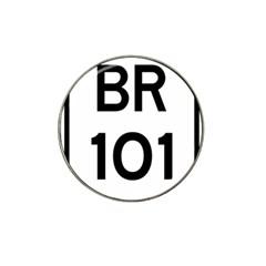 Brazil BR-101 Transcoastal Highway  Hat Clip Ball Marker (4 pack)